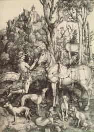 "Albrecht Durer ""The Vision of st. Eustachius"" 1500"