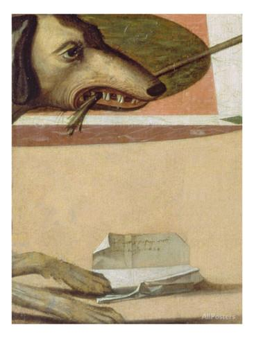 "Vittore Carpaccio ""Two Venetian ladies""; fragmento"