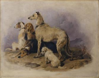 Highland Dogs c.1839 Sir Edwin Henry Landseer 1802-1873 Bequeathed by Jacob Bell 1859 http://www.tate.org.uk/art/work/N00607